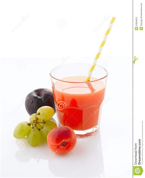 Fruit Juice Fresh Green Plum Juice fresh fruit juice stock photo image 31854670