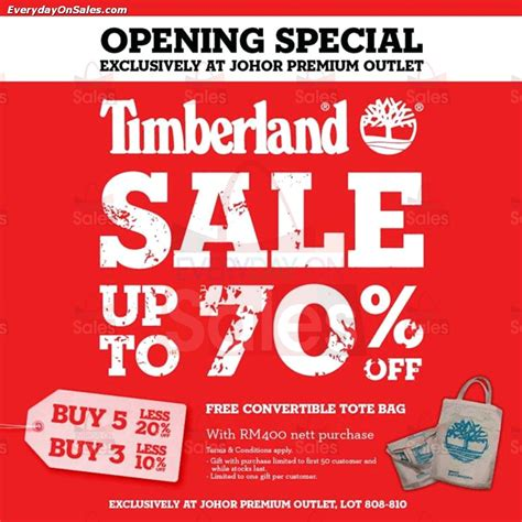 20 nov timberland opening special sale everydayonsales - Timberland Sales