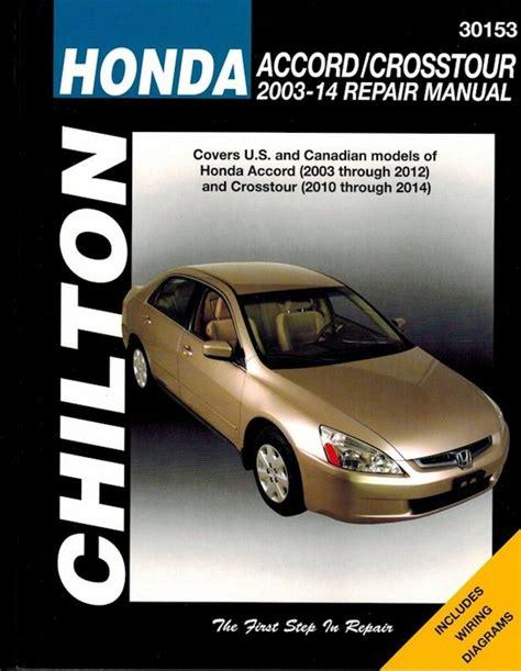 manual repair free 2010 honda accord crosstour regenerative braking honda accord and crosstour repair manual 2003 2014