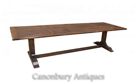Refectory Dining Tables Large Extending Refectory Table Farmhouse Dining Tables