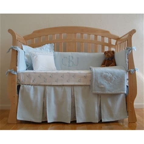 monogrammed crib bedding matelasse monogrammed crib bedding by sweet william