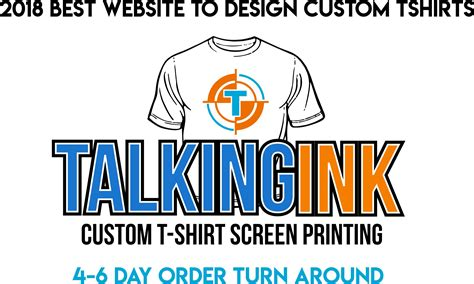 best custom t shirt websites best website to order custom tshirts talkingink screen
