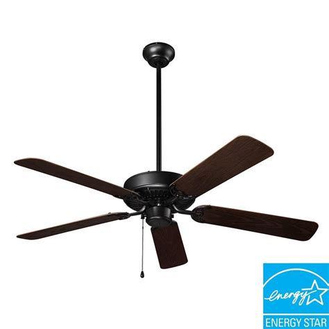 52 inch outdoor ceiling fan nutone wet rated series 52 in outdoor barbecue black