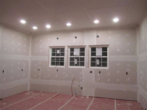 how to finish drywall ceiling the corson cottage our renovation drywall finishing