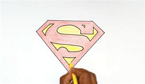 how to draw stuff how to draw the superman logo how to draw stuff