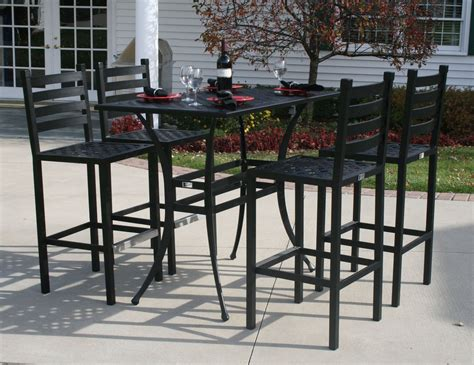 Bar Top Table And Chairs by Best Outdoor Bar Table And Chairs Jbeedesigns Outdoor