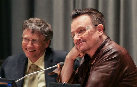bill gates biography history channel how bill gates and bono finally got it all together after