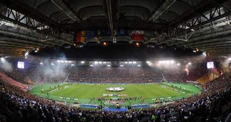 ingressi stadio olimpico roma live roma 0 0 bate borisov gazzettaworld