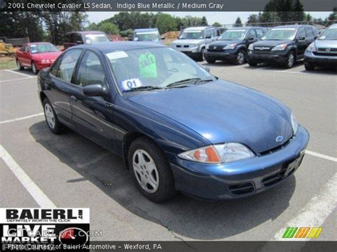 indigo blue metallic  chevrolet cavalier ls sedan
