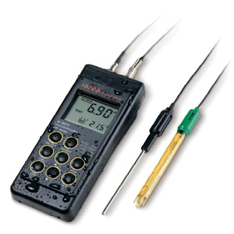 Hi 96107 Ph Meter hi9125n portable ph mv meter with enhanced design instruments hi 9125n 01