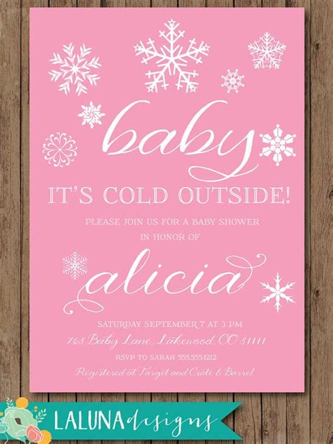 winter baby shower invitations dolanpedia invitations template