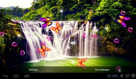 waterfall wallpapers android apps  google play