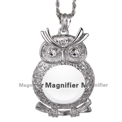 New Arrival Fashion Reading 2x Magnifying Glass Pendant Necklace aliexpress buy reading glasses new 2016 magnifying glass necklace s fashion