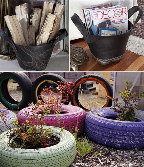 how to diy old tire garden ideas recycled backyard cool 25 creative ideas to reuse old tires architecture design