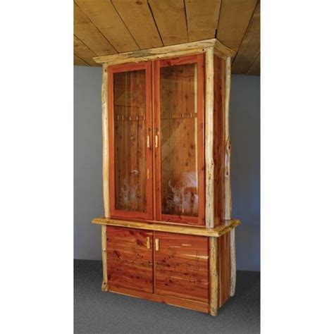 cabinet with locking doors rustic gun cabinet with locking doors