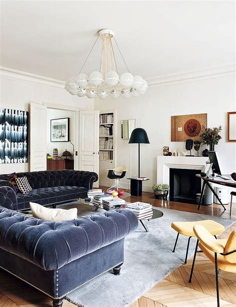 simply urban living room offers traditional luxury decorating parisian style chic modern apartment by sandra