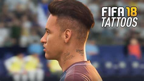 dybala tattoo fifa 14 fifa 18 player tattoos ft neymar dybala messi james