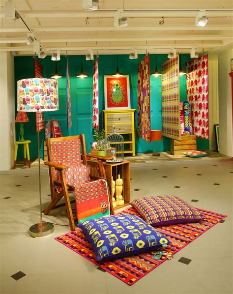 Indian Decor Store by Chumbak Store By 4d Bangalore India 187 Retail Design
