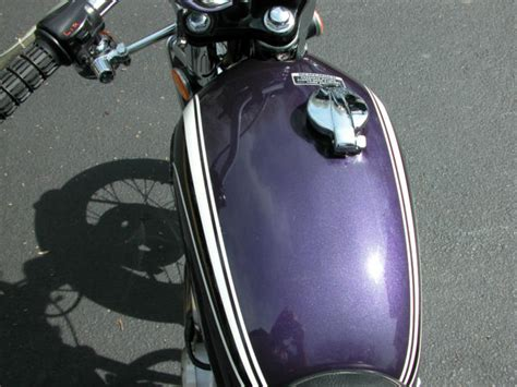 1973 honda cb350g low mileage rideable collectible iris purple