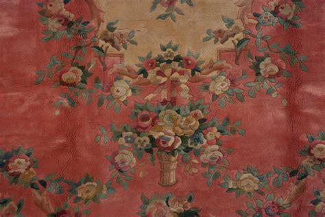 japanese pattern rug rra 9x12 japanese savonnerie lattice design rose ivory rug