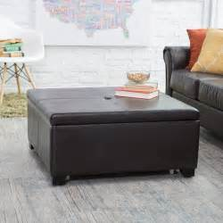 Storage Coffee Table Ottoman Belham Living Corbett Coffee Table Storage Ottoman Square Coffee Tables At Hayneedle