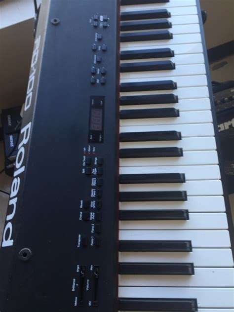 Keyboard Roland Rd 100 roland keyboards midi equipment rd 100 buya