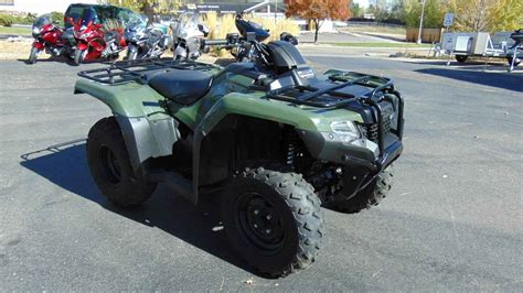 Honda Fort Collins by Page 47369 Used 2014 Honda Fourtrax Rancher 4x4 In Fort