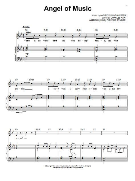 angle song angel of music sheet music direct