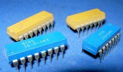 beckman resistor network 4114r 1 560 dip bourns beckman resistor network 56ohm
