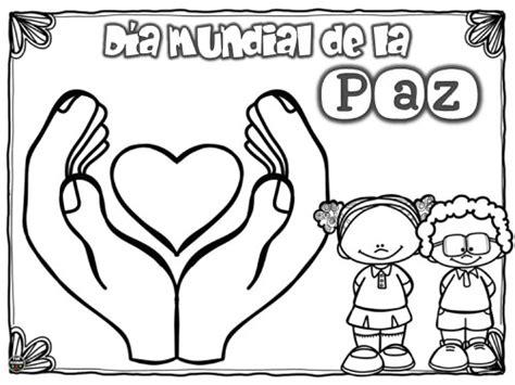 imagenes para colorear sobre la paz im 225 genes para colorear dibujos del d 237 a de la paz