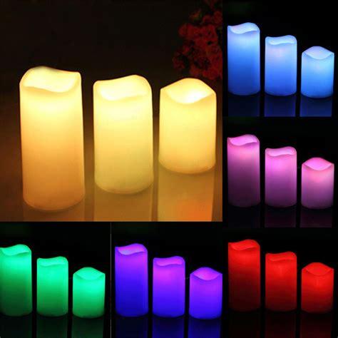 Lu Lilin Led Murah Lilin Elektrik Murah Lilin Led Warna Led Candle lilin led rgb dengan remote 3pcs white jakartanotebook