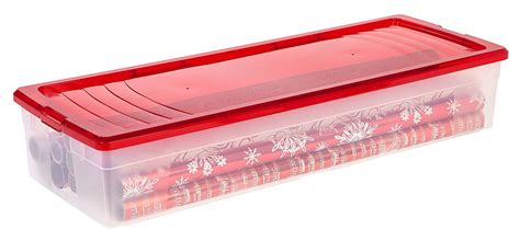 plastic gift wrapping paper plastic wrapping paper storage box in gift wrap organizers