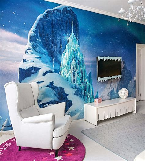 ice blue bedroom dreams come true girl s bedroom inspired by the frozen