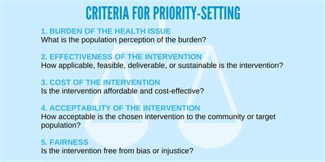 priority setter definition handbook universal health coverage partnership