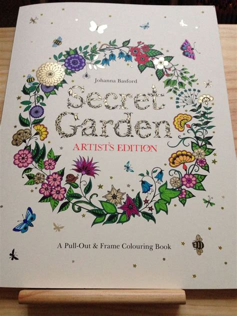 secret garden colouring book whsmith 105 best images about my colouring creations on