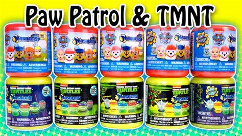 Blind Bag Toys Paw Patrol paw patrol tmnt series2 mashems fashems toys