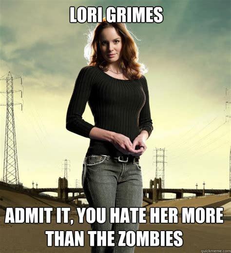 Lori Walking Dead Meme - do you like the character of lori grimes on the walking