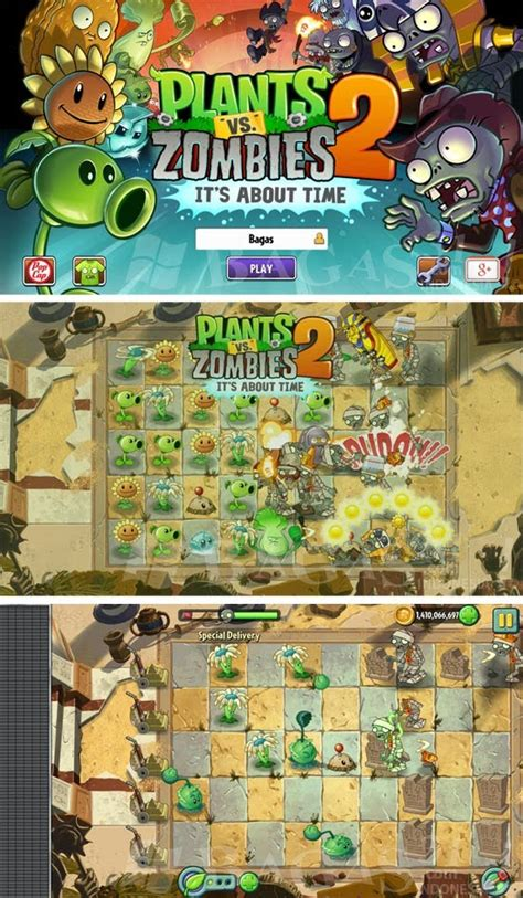 Bagas31 Plants Vs Zombies 2 | plants vs zombie 2 hd unlimited coins for android