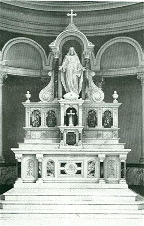 roman  marble high altar