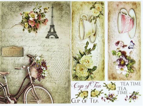 Where Can I Buy Decoupage Paper - a 4 classic decoupage paper scrapbook sheet vintage