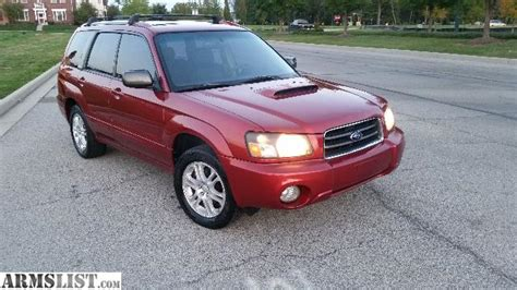 Subaru Forester Turbo For Sale by Armslist For Sale 2004 Subaru Forester Xt Turbo