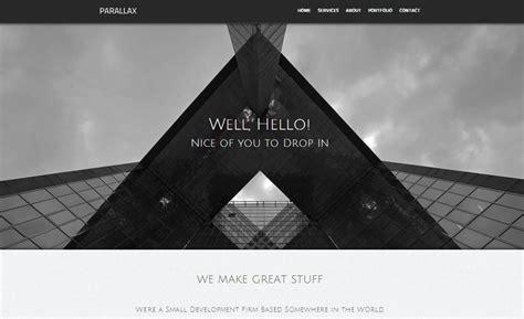 parallax serif webplus templates