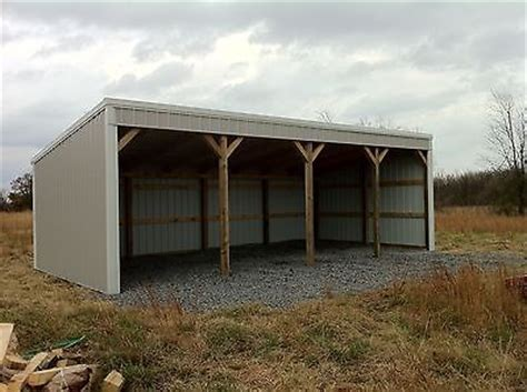 Shed Roof Pole Barn by 1000 Ideas About Pole Barn Designs On Pole
