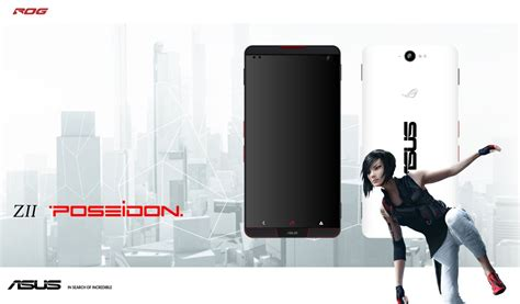 Asus Z2 Poseidon Ram 6gb asus z2 poseidon concept smartphone with 6gb ram and intel