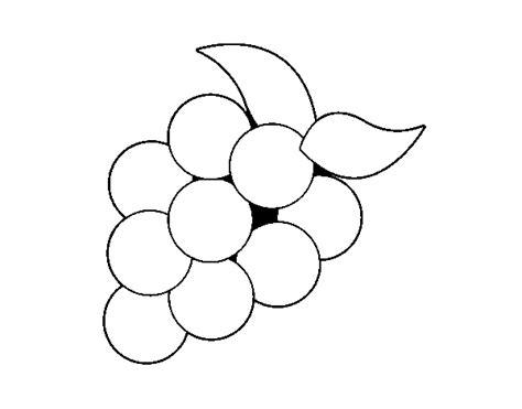imagenes uvas para pintar desenho de uvas verdes para colorir colorir com