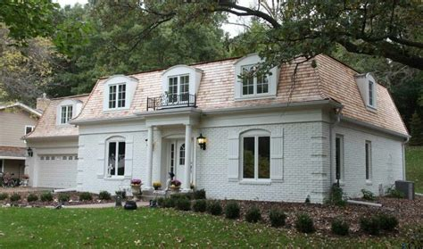 Roof With Four Sloping Sides Mansard Roof A Roof That Has Four Sloping Sides Each Of