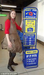 Hair Dryer In Cabin Baggage Ryanair does my baggage look big in this we test the new way to