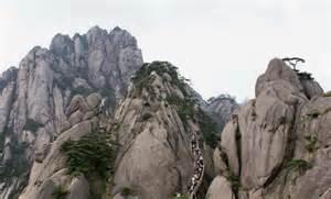 Lotus Peak Capital Huangshan Mountain Yellow Mountain China World Geopark