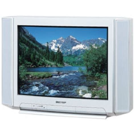Tv Sharp Crt 29 Inch sharp 29es1 29 quot multi system crt tv for 110 220 volts