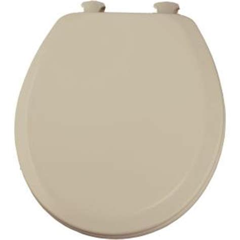 bemis closed front toilet seat in bone 520ec 006